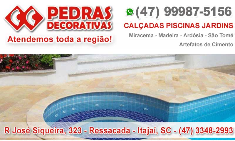 Pedriscos e Seixos itajai, Pisotantes para Jardim itajai, Rio Clara itajai,